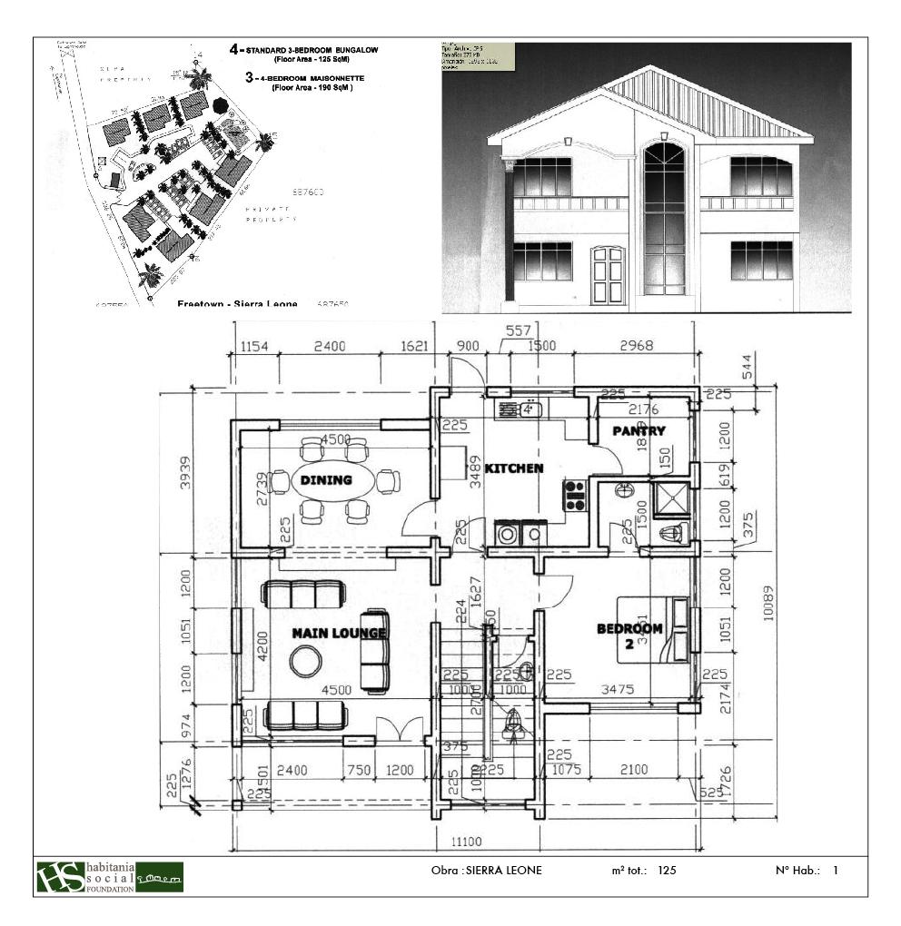 Proyecto Sierraleone 190 m2